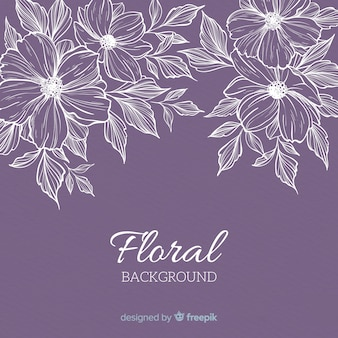 Florale achtergrond