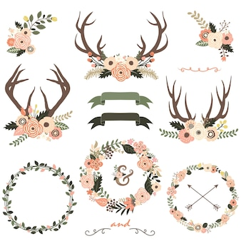 Flowerl antlers collectie