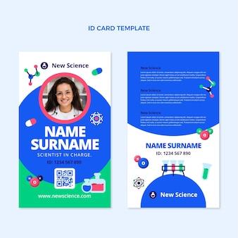 Flt ontwerp wetenschap id-kaart