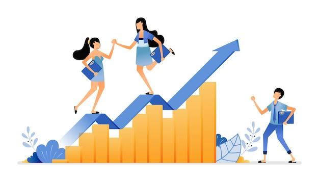 Fluctuaties in voorraadverkopen en investeringen om de toekomstige strategie van de bedrijfsprestaties te analyseren
