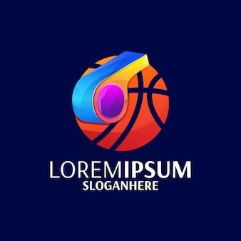 Fluit basketbal logo