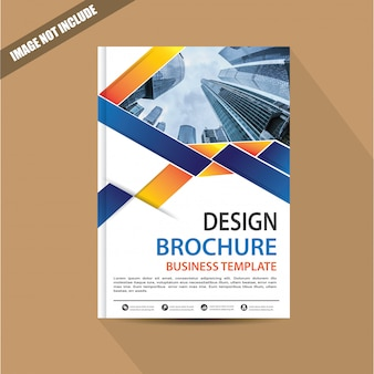 Flyer lay-out met modern design