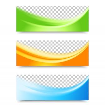 Flyer sjabloon header design.