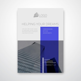 Flyer-sjabloon voor het bedrijfsleven