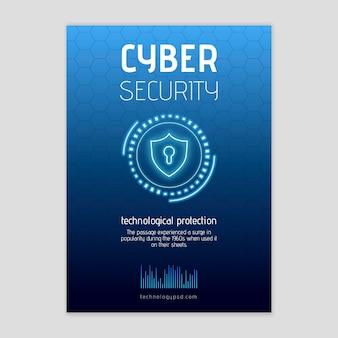 Flyer voor cyberveiligheid v