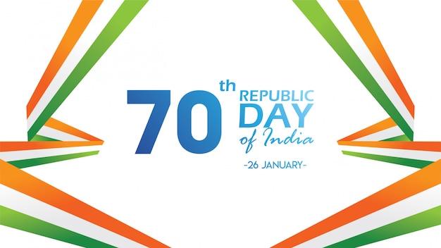 Flyer voor republic day of india