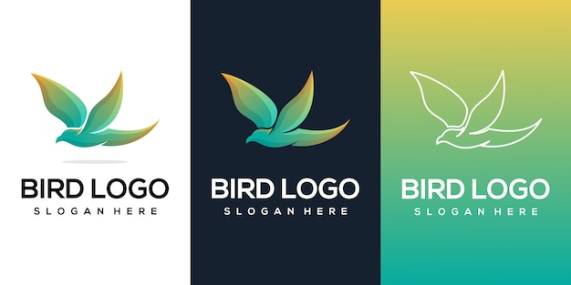 Flying bird-logo