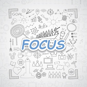 Focus elementen collectie