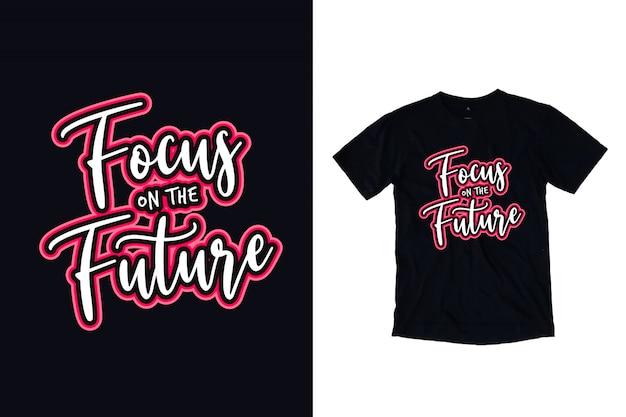 Focus op de toekomstige typografie