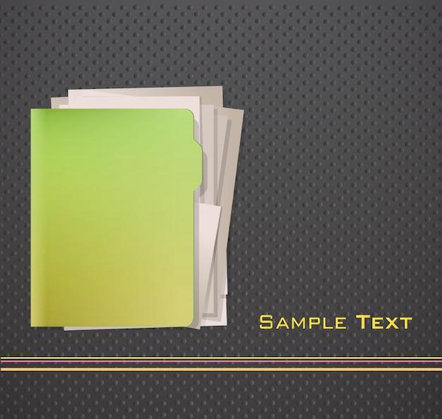 Folder achtergrond ontwerp