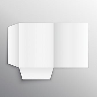 Folder, mock-up