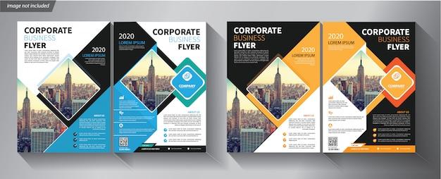 Folder sjabloon voor bedrijf