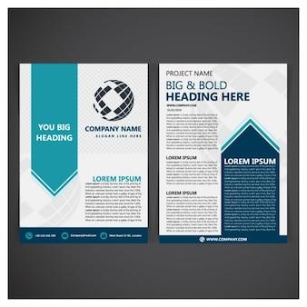 Folder template ontwerp