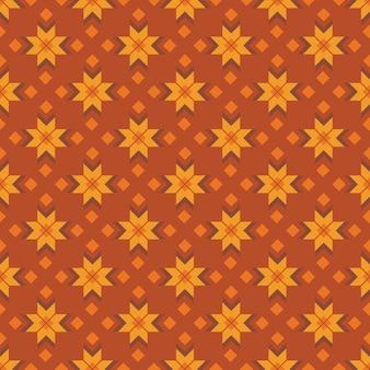 Folk decoratief textiel naadloos patroon