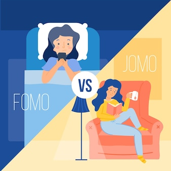 Fomo versus jomo