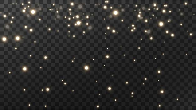 Fonkelende magische stof textuur zwarte achtergrond.