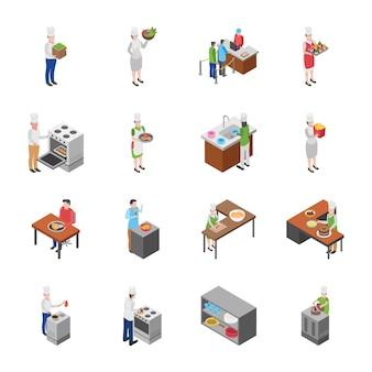 Food court, koelkasten en meubels set