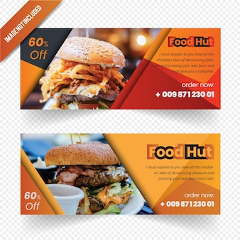 Food web banner design