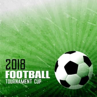 Foorball sport achtergrond in abstracte stijl