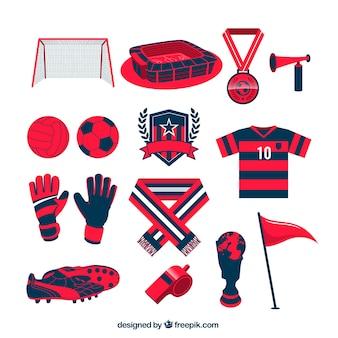 Football team apparatuur