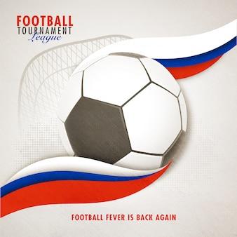 Football tournament league-banner