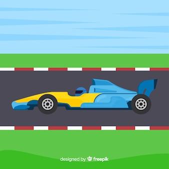 Formule 1 raceauto's achtergrond