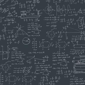 Formule in blackboard.