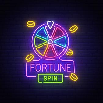 Fortune neon teken