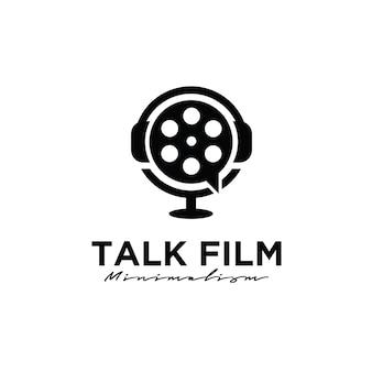 Forum bioscoop studio film production logo-ontwerp