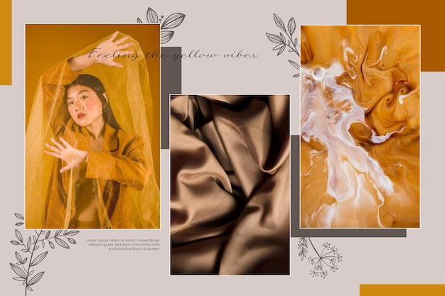 Foto collage concept