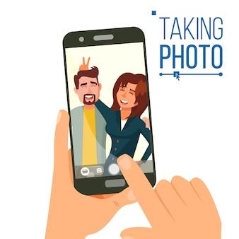 Foto nemen op smartphone