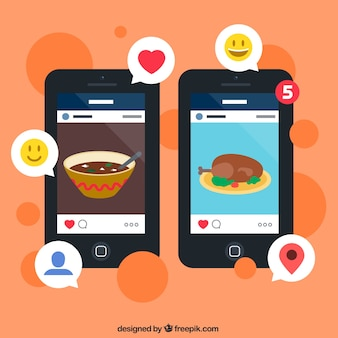 Foto social media app