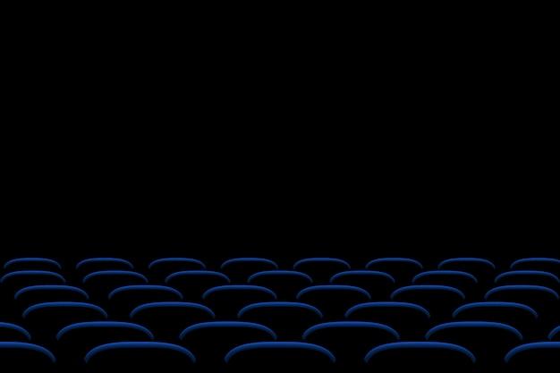 Foto van bioscoopstoelen