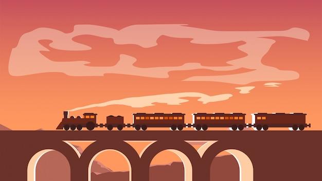Foto van de trein