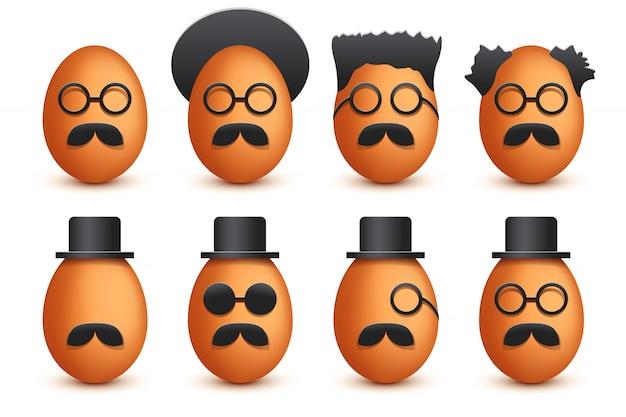 Foto van eieren set