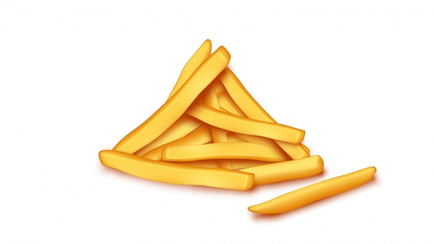 Foto van frietjes