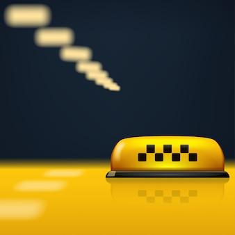 Foto van taxi