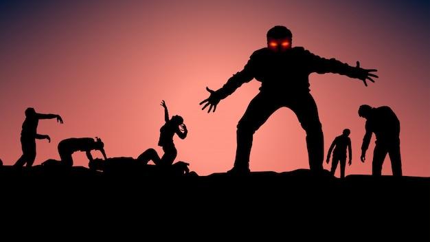 Foto van zombie
