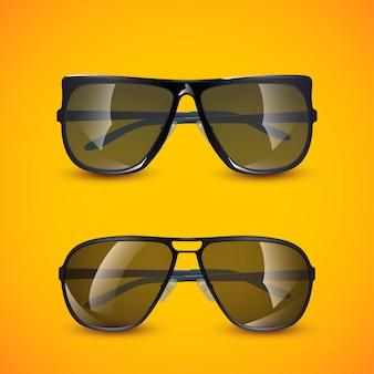Foto van zonnebril Premium Vector
