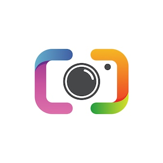 Fotografie logo vector