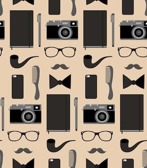 Fotografie naadloze patroon