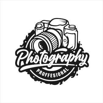 Fotografie professioneel ontwerplogo