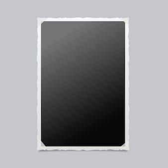 Fotolijst geïsoleerde illustratie