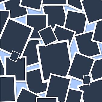 Fotolijst naadloos patroon