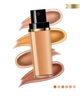 Foundation crème cosmetica