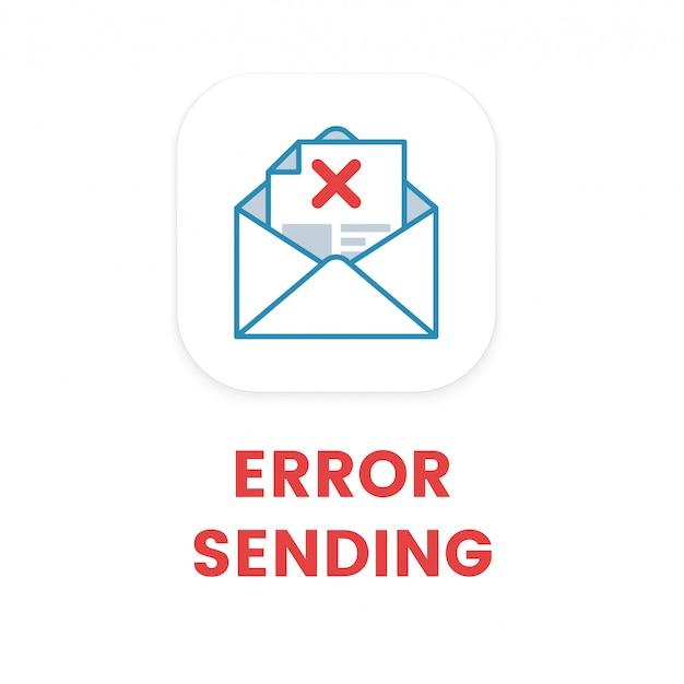 Fout bij e-mail verzenden