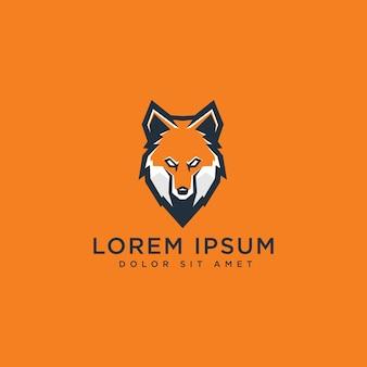 Fox esport gaming logo vector