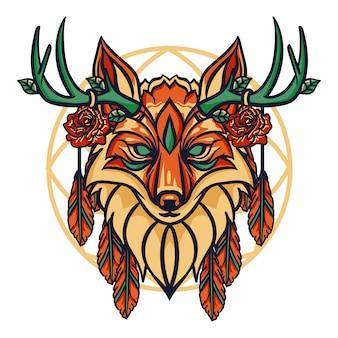 Fox hoofd