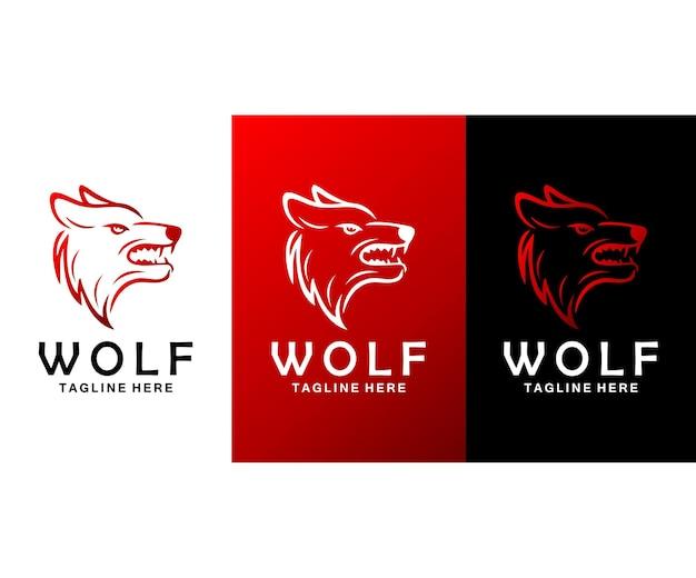 Fox karakter logo ontwerp