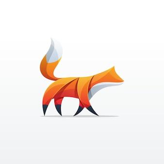 Fox kleurrijk ontwerp